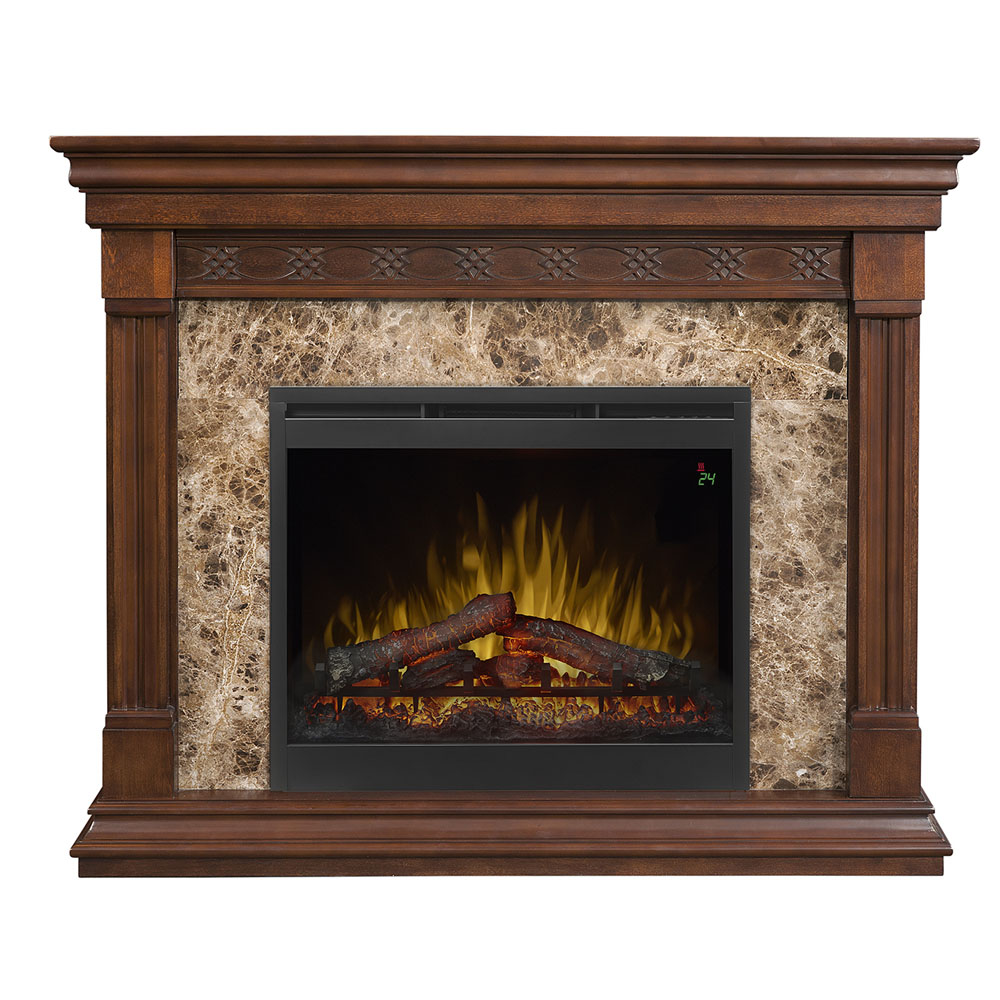Alcott Mantel Electric Fireplace