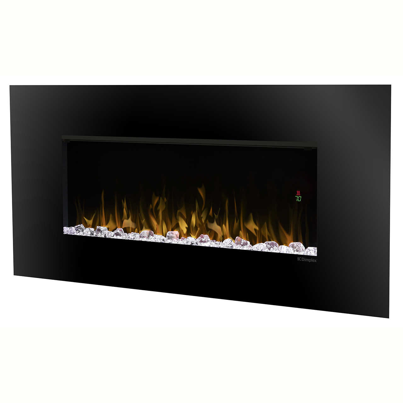 wall linear mount prism series fireplace northline electric