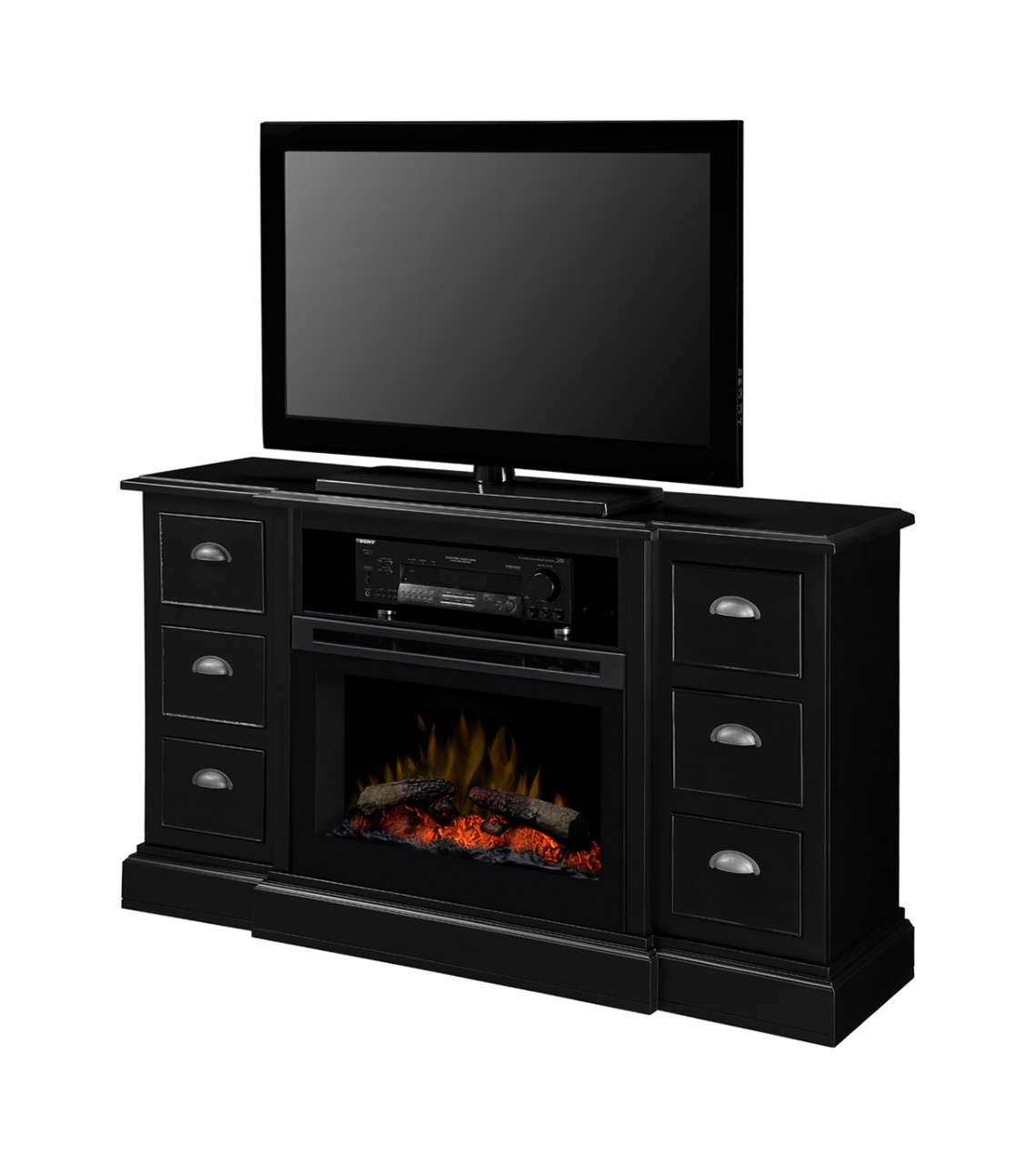 Dimplex Gibbons Media Console Electric Fireplace Toronto Best Price