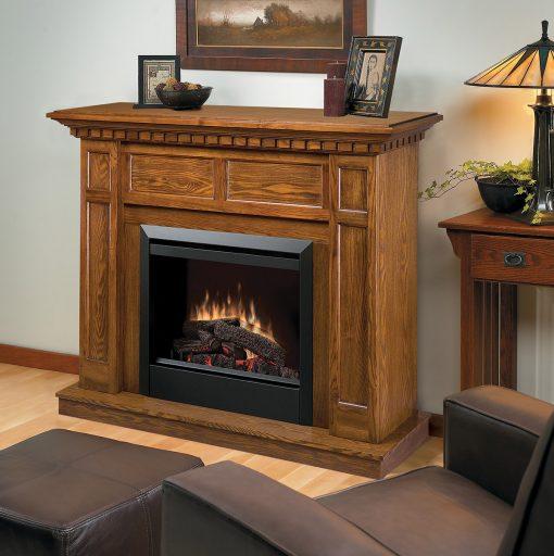 DFP4743O-Caprice Electric Fireplace-Oak