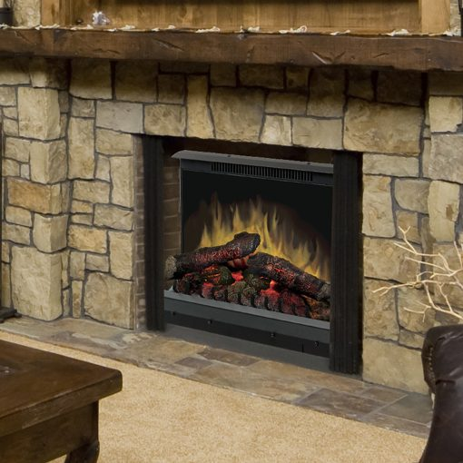 Deluxe 23 Log Set Electric Fireplace Insert -1