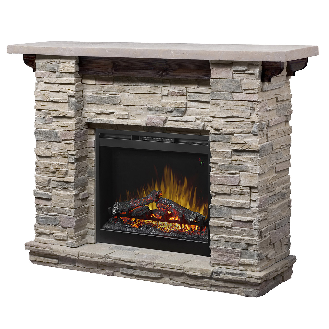 Featherston Mantel Electric Fireplace
