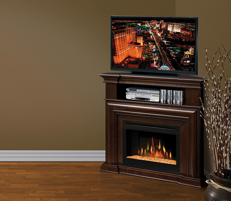dimplex montgomery media console electric fireplace. Black Bedroom Furniture Sets. Home Design Ideas