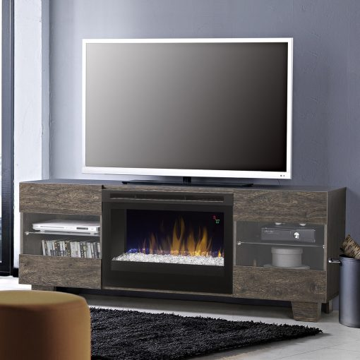 GDS25G5_1651EB-Max Media Console-Glass Ember Bed-Elm Brown-1