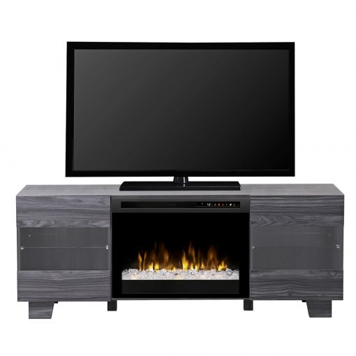 GDS25G8_1651CW-Max Media Console-Acrylic Ice(XHD)-Carbon