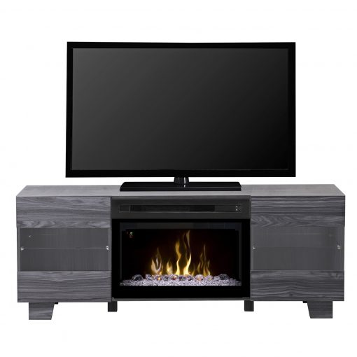 GDS25GD_1651CW-Max Media Console-Acrylic Ice-Carbon
