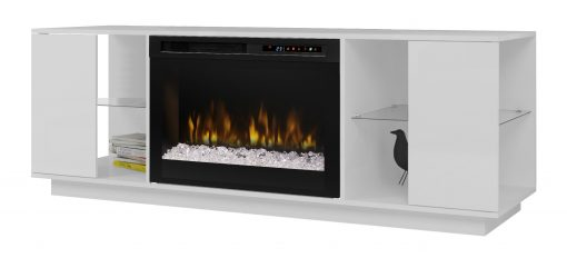 GDS26G8-1652W-Flex Lex Media Console-Acrylic Ice(XHD)-White