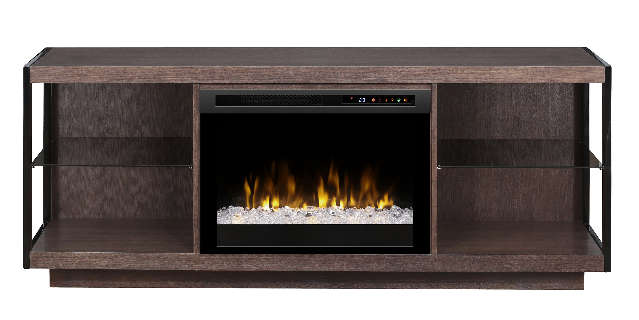 Dimplex Leif Media Console Electric Fireplace Gds26l8 1653tb