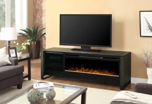 GDS50G-1429CC-Howden Media Console-Glass Ember Bed 1