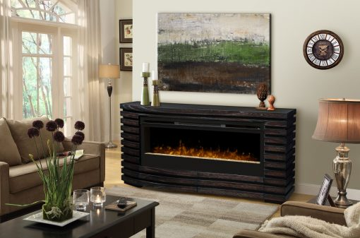 GDS50G3-1587HT-Elliot Mantel Electric Fireplace-Sparkling Ember Bed-1