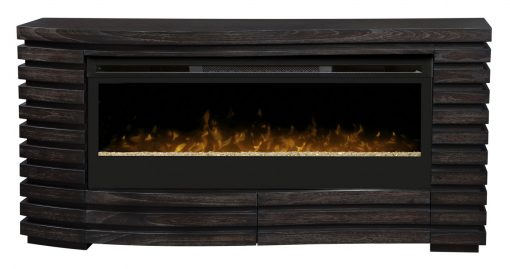 GDS50G3-1587HT-Elliot Mantel Electric Fireplace-Sparkling Ember Bed