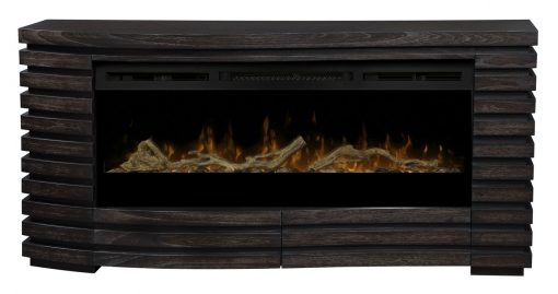 GDS50G3-1587HT-Elliot Mantel Electric Fireplace-Sparkling Ember Bed(with Driftwood Kit)-1