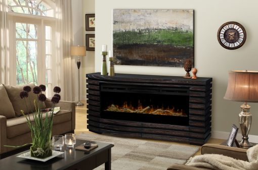 GDS50G3-1587HT-Elliot Mantel Electric Fireplace-Sparkling Ember Bed(with Driftwood Kit)-2