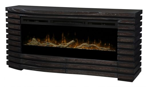 GDS50G3-1587HT-Elliot Mantel Electric Fireplace-Sparkling Ember Bed(with Driftwood Kit)