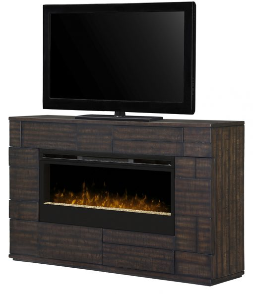 GDS50G3_1559BT-Markus Electric Fireplace-Glass Ember Bed-2