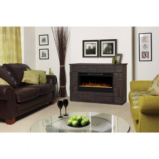 GDS50G3_1559BT-Markus Electric Fireplace-Glass Ember Bed-3