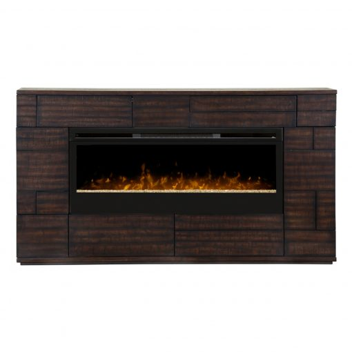 GDS50G3_1559BT-Markus Electric Fireplace-Glass Ember Bed