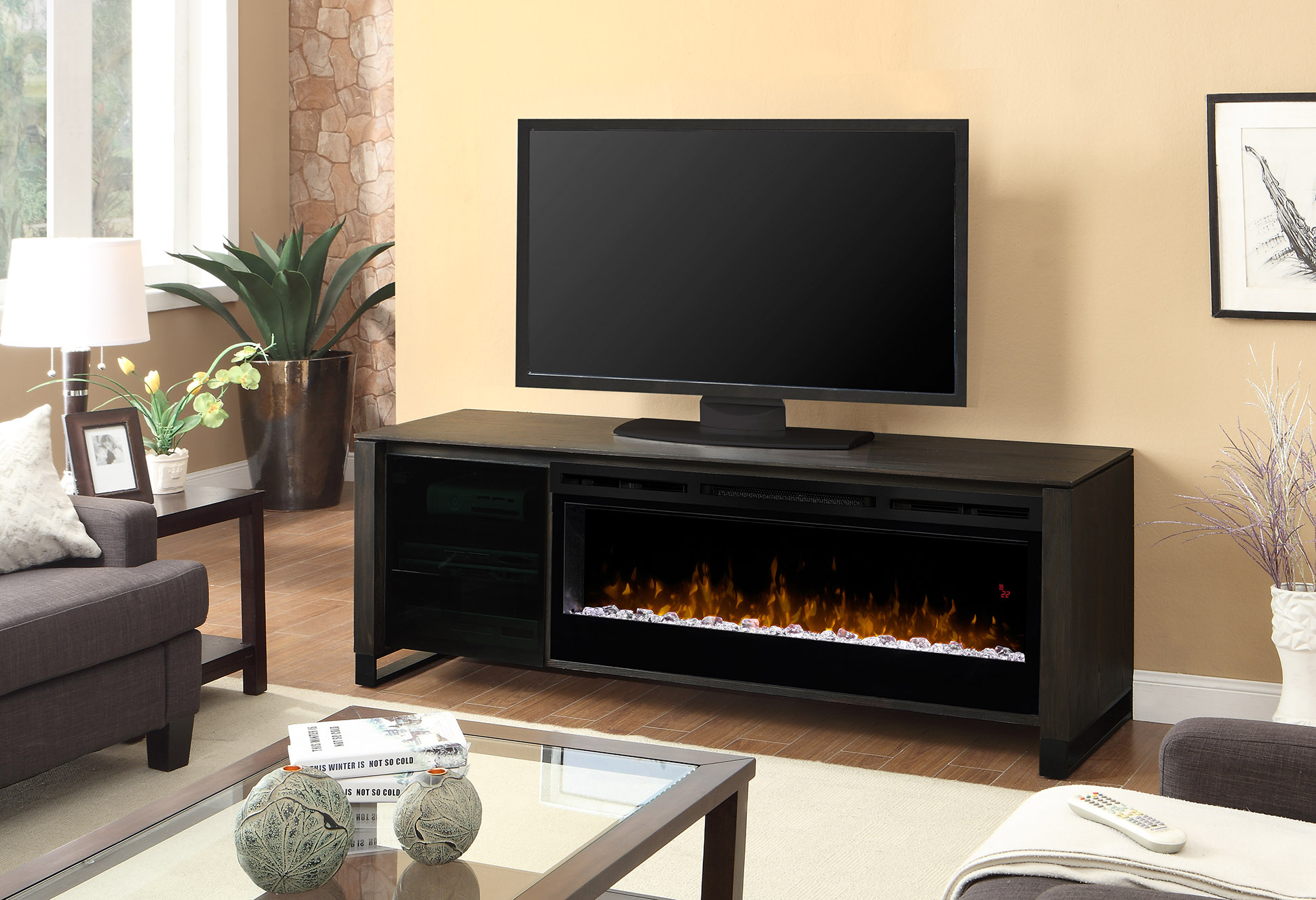 Dimplex Howden Media Console Electric Fireplace Gds50g5