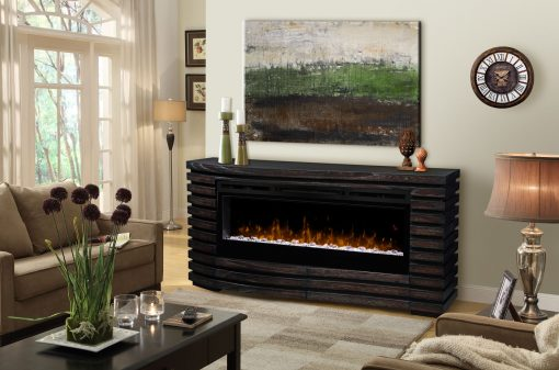 GDS50G5-1587HT-Elliot Mantel Electric Fireplace-Acrylic Ice-1