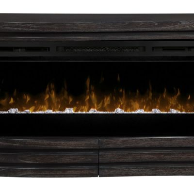 GDS50G5-1587HT-Elliot Mantel Electric Fireplace-Acrylic Ice