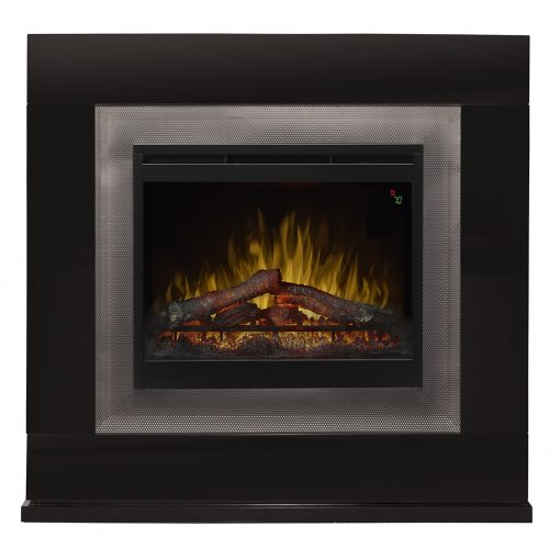 Lukas Mantel Electric Fireplace-1