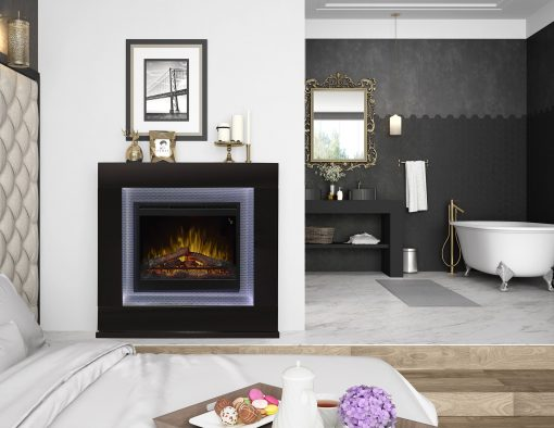 Lukas Mantel Electric Fireplace-3