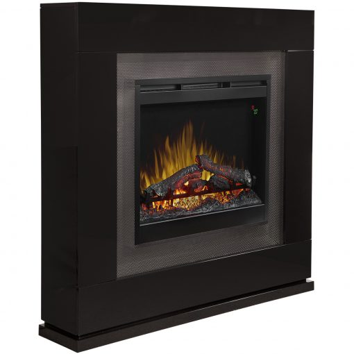 Lukas Mantel Electric Fireplace-4