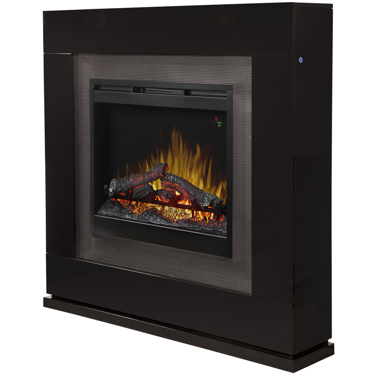Lukas Mantel Electric Fireplace