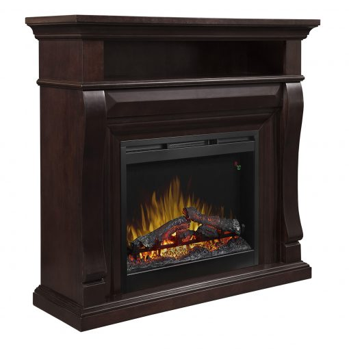 Noah Mantel Electric Fireplace-2