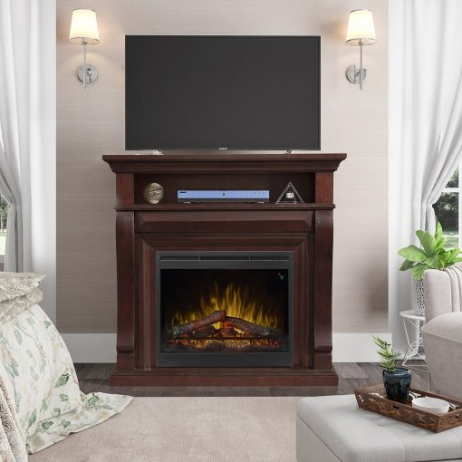 Noah Mantel Electric Fireplace-3