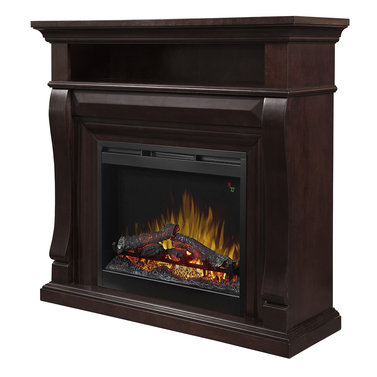 Noah Mantel Electric Fireplace