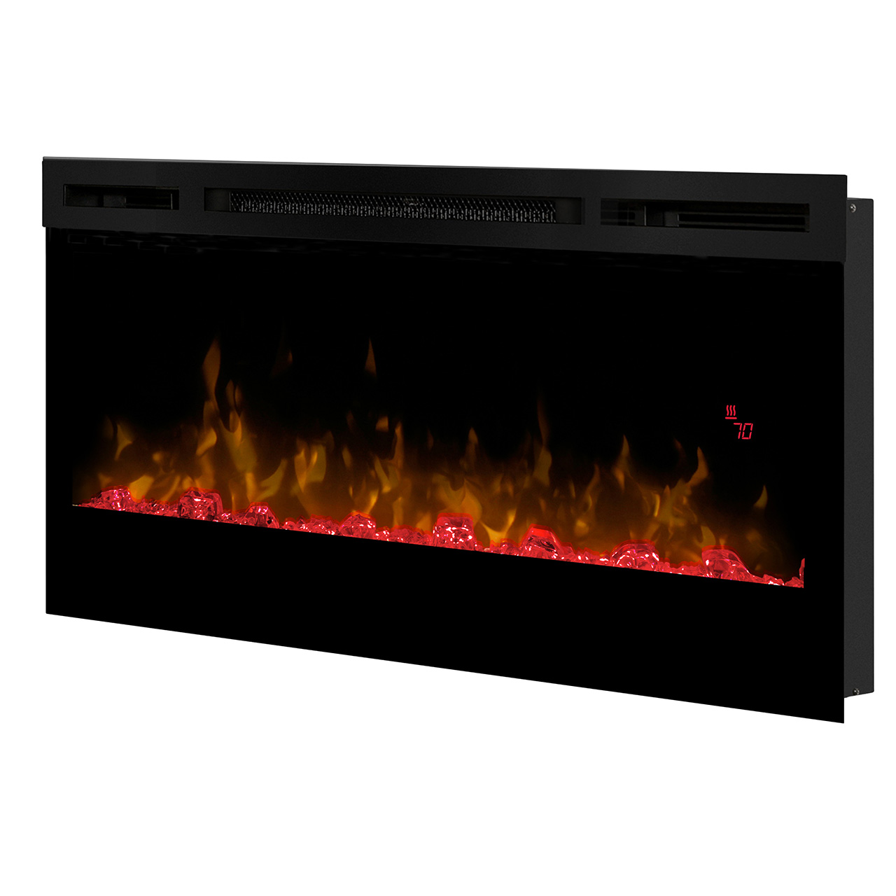 Dimplex Prism Series 34 Quot Wall Mount Electric Fireplace