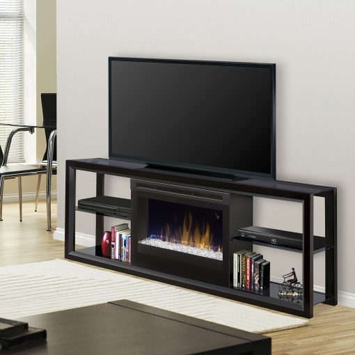 S5GFP-Novara Media Console-Acrylic ICe(*)-Black