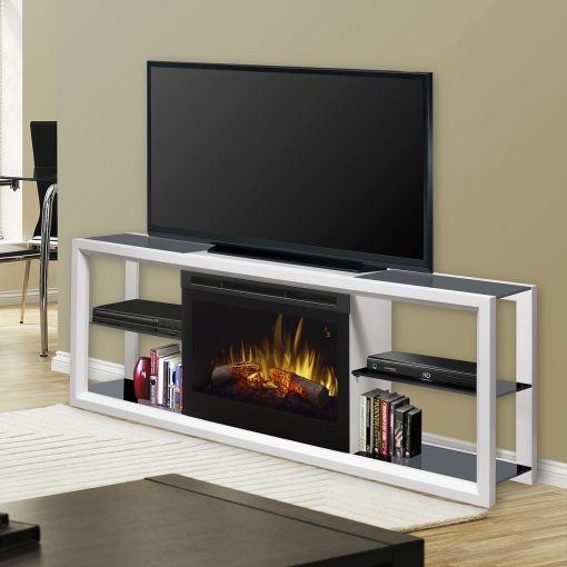 SAP5L-Novara Media Console-Log Set-White