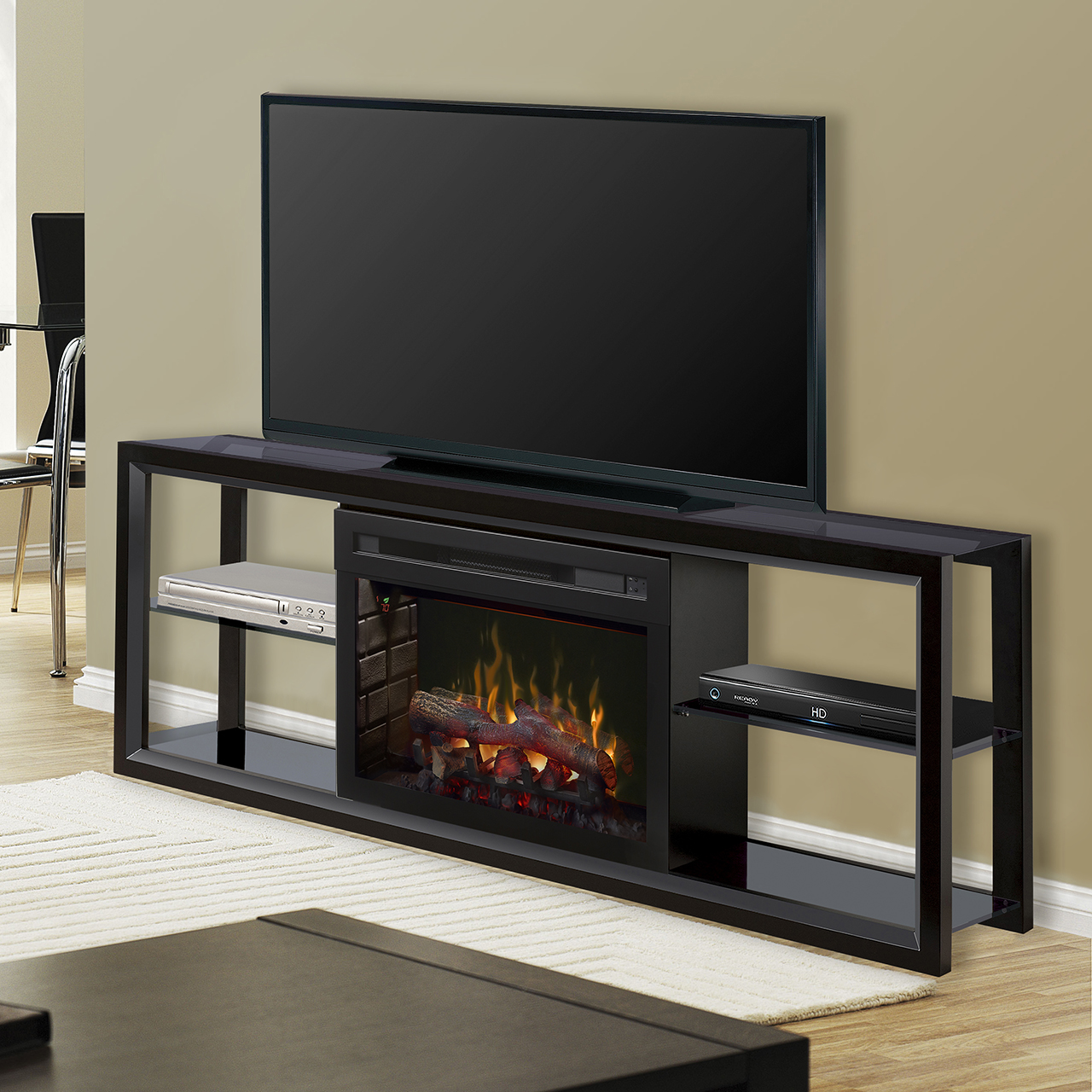 Dimplex Novara Media Console Electric Fireplace Shgfp 300 W