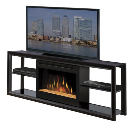 SGFP-Novara Media Console-Acrylic Ice-Black