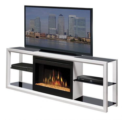 SGFP-Novara Media Console-Acrylic Ice-White-1