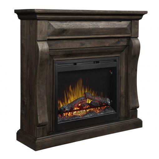 Samuel Mantel Electric Fireplace-2