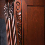 Solid Wood Hand Carved Columns