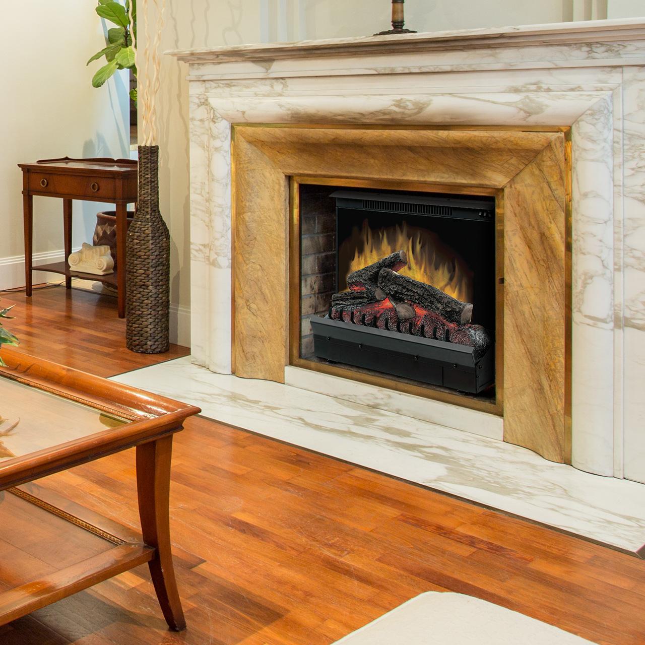 Strange Dimplex Standard 23 Log Set Electric Fireplace Insert Dfi2309 Interior Design Ideas Gentotryabchikinfo
