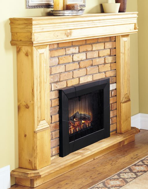 Standard 23 Log Set Electric Fireplace Insert-3