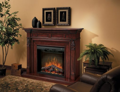 Torchiere Electric Fireplace-1