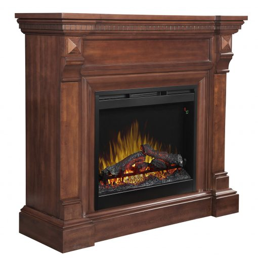 William Electric Fireplace Mantel-2