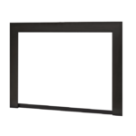 3 ¼ 3-Sided Front - Black (30 ⅜h x 40 ¼w)