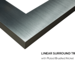 3 ½ Trim - Brushed Nickel
