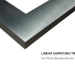 3 ½ Trim - Brushed Nickel