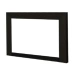4-Sided Square Picture Frame Trim Kit - Black