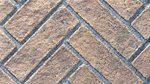 Brick Panel - Rustic Brown Herringbone