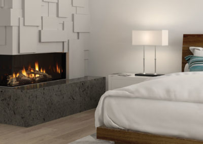 Chicago Corner 40LE Gas Fireplace-1