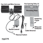 Circulating Fan Kit (739 engine only)